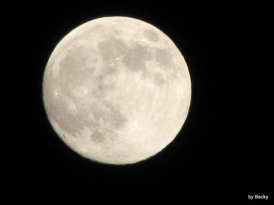 Mein bestes Mondbild ;)