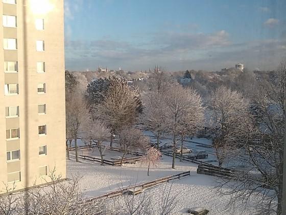 Lübeck im Schnee