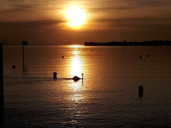 folgt Sonnenuntergang