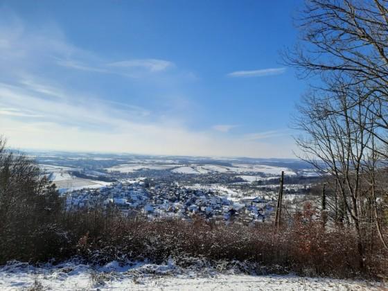 Beim Schloss Ebersberg - 12.02.2021 nachmittags