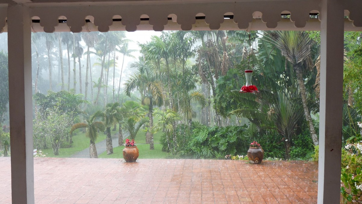 Ende der Regenzeit